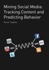 Front cover of the book Mining Social Media