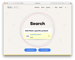 904Labs self-learning search engine